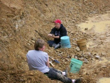 Keokuk Area Geode Collecting - Retherford - May 2008