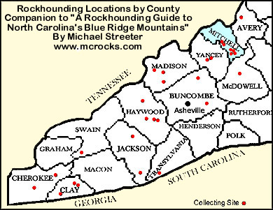 McRocks - Western North Carolina and Southeastern United States Rock