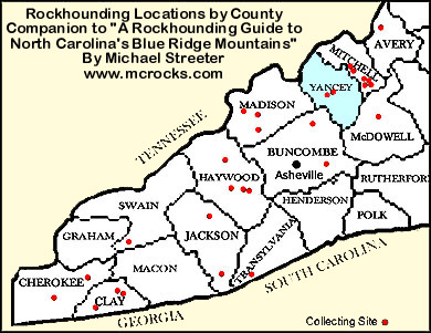McRocks - Western North Carolina and Southeastern United Statesyancey county